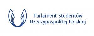 Znak poziomy Parlamentu Studentów RP