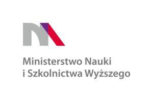 Znak poziomy Ministerstwa Nauki i Szkolnictwa Wyższego